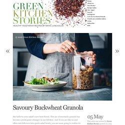 Savoury Buckwheat Granola