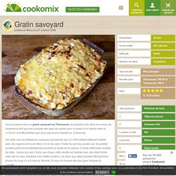 Gratin savoyard au Thermomix - Cookomix