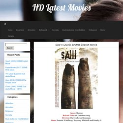 Saw II (2005) 300MB English Movie