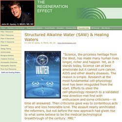 SAW and Healing Waters