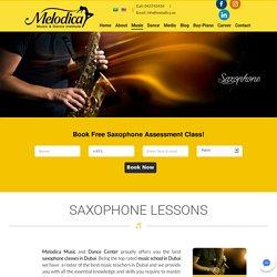 Saxophone classes in Dubai