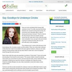 Say Goodbye to Undereye Circles