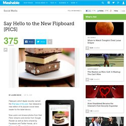 Say Hello to the New Flipboard [PICS]
