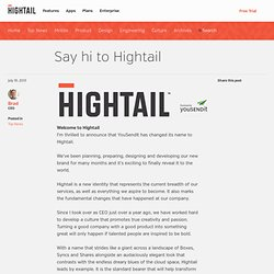 Say Hi to Hightail