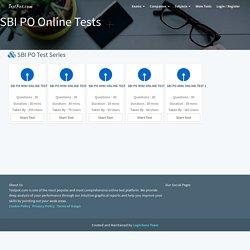 SBI PO Online Tests SBI PO Mock Tests