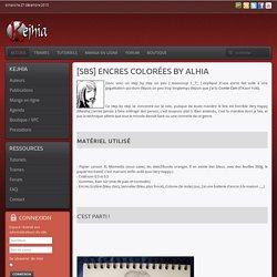 [SbS] Encres colorées by Alhia