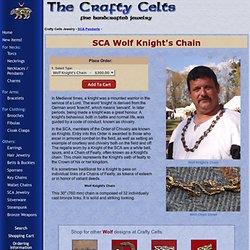 Chaîne de SCA Chevalier des loups