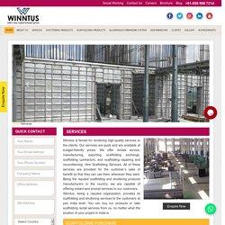 Hire Scaffolding Rental Services in Delhi - Winntus Scaffolding