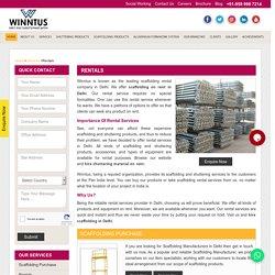 Hire Best Shuttering Material On Rent - Winntus Scaffolding