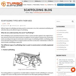 Scaffolding Types with Their Uses