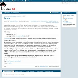 Scala (Meeting.Scala) - XWiki
