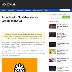Scalable Vector Graphics (SVG) - Beginner's Guide - Hongkiat