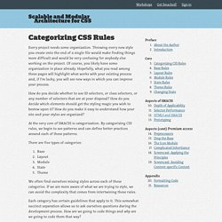Book - Scalable and Modular Architecture for CSS