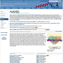 NAMD - Scalable Molecular Dynamics