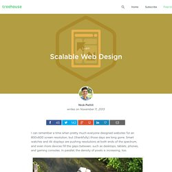 Scalable Web Design