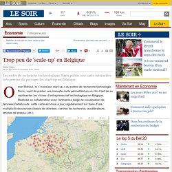 Trop peu de 'scale-up' en Belgique