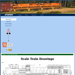 Scale Train Drawings