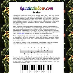 Scales page 1