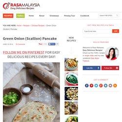 Green Onion (Scallion) Pancake - Rasa Malaysia