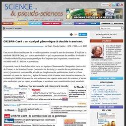 CRISPR-Cas9 : un scalpel génomique à double tranchant