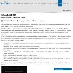 Beware of Online Scammers Selling Campervans in Australia