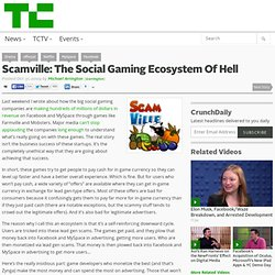 Scamville: The Social Gaming Ecosystem Of Hell