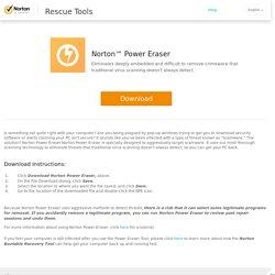 Norton Power Eraser