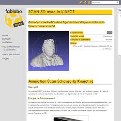 SCAN 3D avec la KINECT