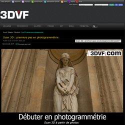 Scan 3D : premiers pas en photogrammétrie