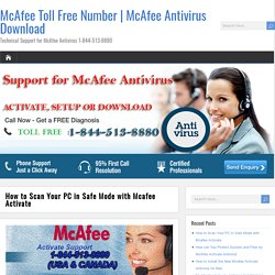 How to Scan Your PC in Safe Mode with Mcafee Activate