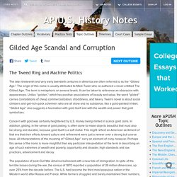 Gilded Age Scandal and Corruption - AP U.S. History Topic Outlines - Study Notes