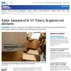 Scandale: Entre Amazon et le <i>NY Times</i>, la guerre est déclarée - News Économie: Entreprises