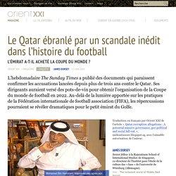 Le Qatar ébranlé par un scandale inédit dans l'histoire du football