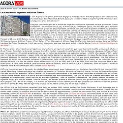Le scandale du logement social en France - AgoraVox le m dia cit