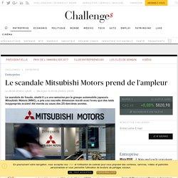 Le scandale Mitsubishi Motors prend de l'ampleur - Challenges.fr
