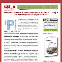 De Notre-Dame-des-Landes au scandale Ecomouv'… Il n'y a pas de bons partenariats public-privé !