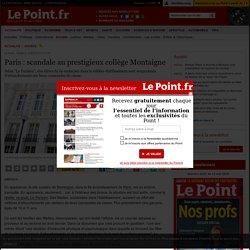 Paris : scandale au prestigieux collège Montaigne
