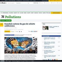 Scandale autour du gaz de schiste californien