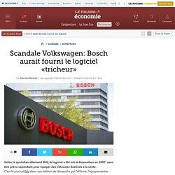Scandale Volkswagen: Bosch aurait fourni le logiciel «tricheur»
