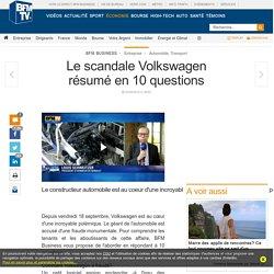 Le scandale Volkswagen résumé en 10 questions