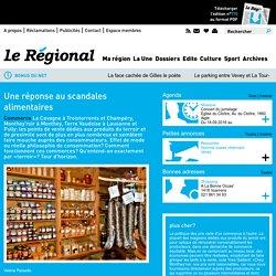 LEREGIONAL_CH 10/09/15 Une réponse au scandales alimentaires (concerne les circuits courts)