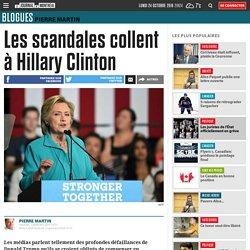 Les scandales collent à Hillary Clinton