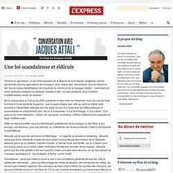 Une loi scandaleuse et ridicule - Conversation avec Jacques Atta