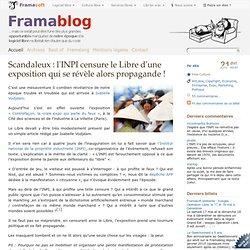 Scandaleux : l'INPI censure le Libre d'une exposition qui se rév
