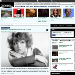 "Scandals of Classic Hollywood: Clara Bow, ""It"" Girl"
