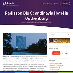 Radisson Blu Scandinavia Hotel in Gothenburg