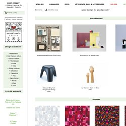 Design Scandinave - boutique en ligne