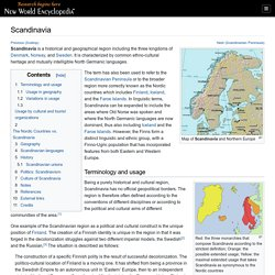 Scandinavia - New World Encyclopedia