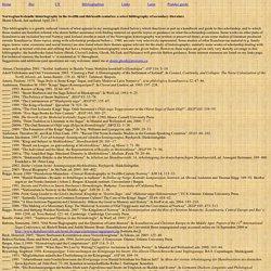 Scandinavian historiography bibliography