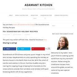 70+ Scandinavian Holiday Recipes
